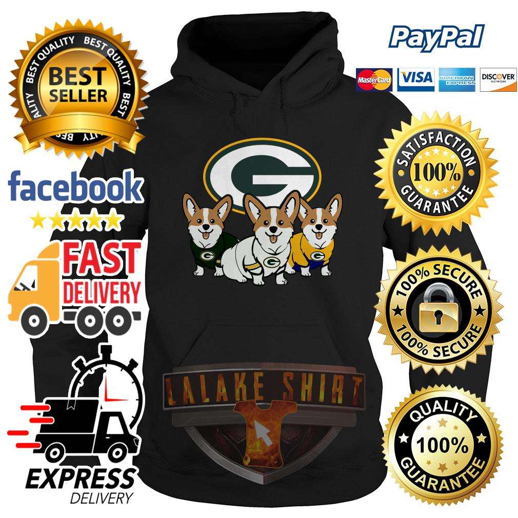 Pembroke Welsh Corgi Green Bay Packers hoodie