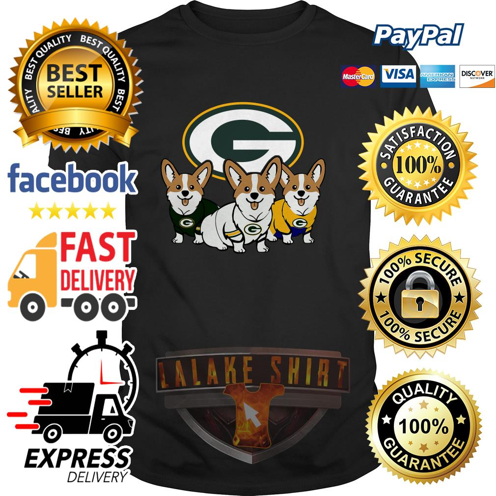 Pembroke Welsh Corgi Green Bay Packers shirt