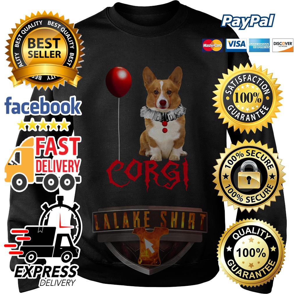 Pennywise Corgi Halloween sweater