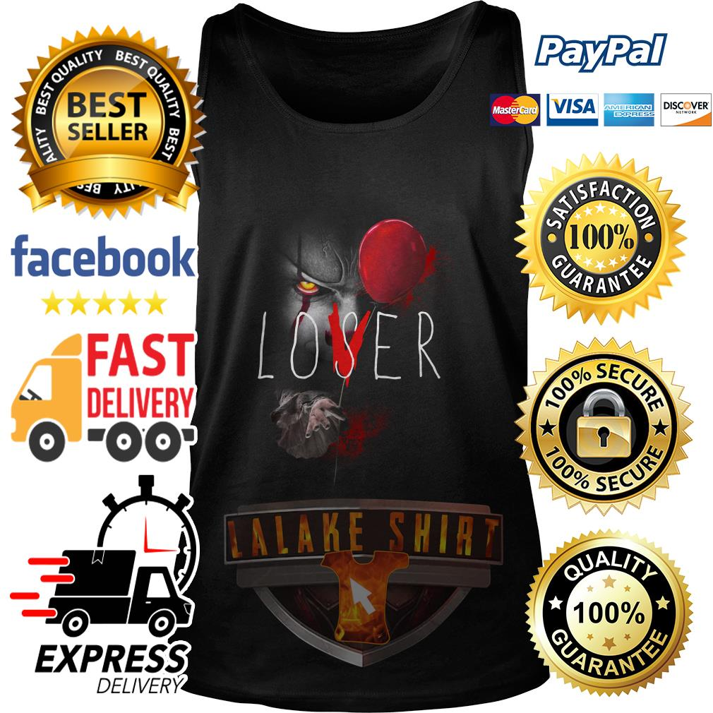 Pennywise lover Halloween tank top