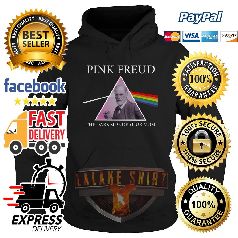 Pink Freud the dark side of your mom hoodie