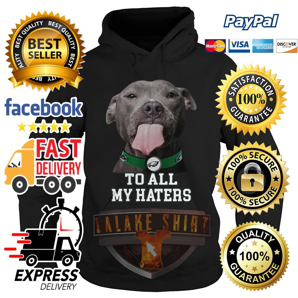 Pitbull Philadelphia Eagles to all my haters hoodie