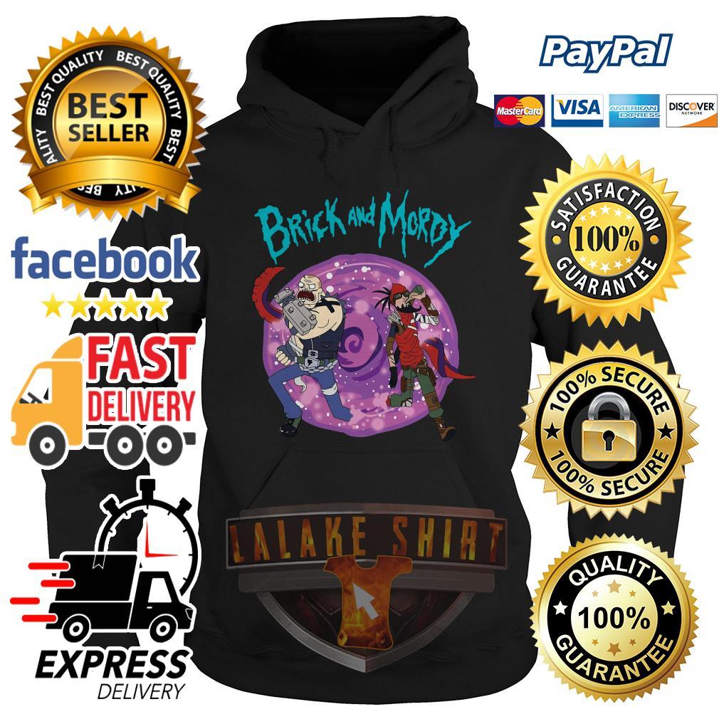 Rick and Morty Brick and Moroy hoodie