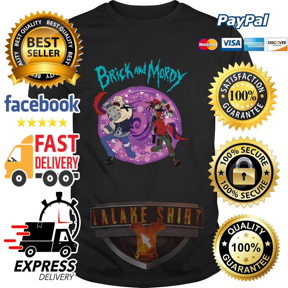 Rick and Morty Brick and Moroy shirt