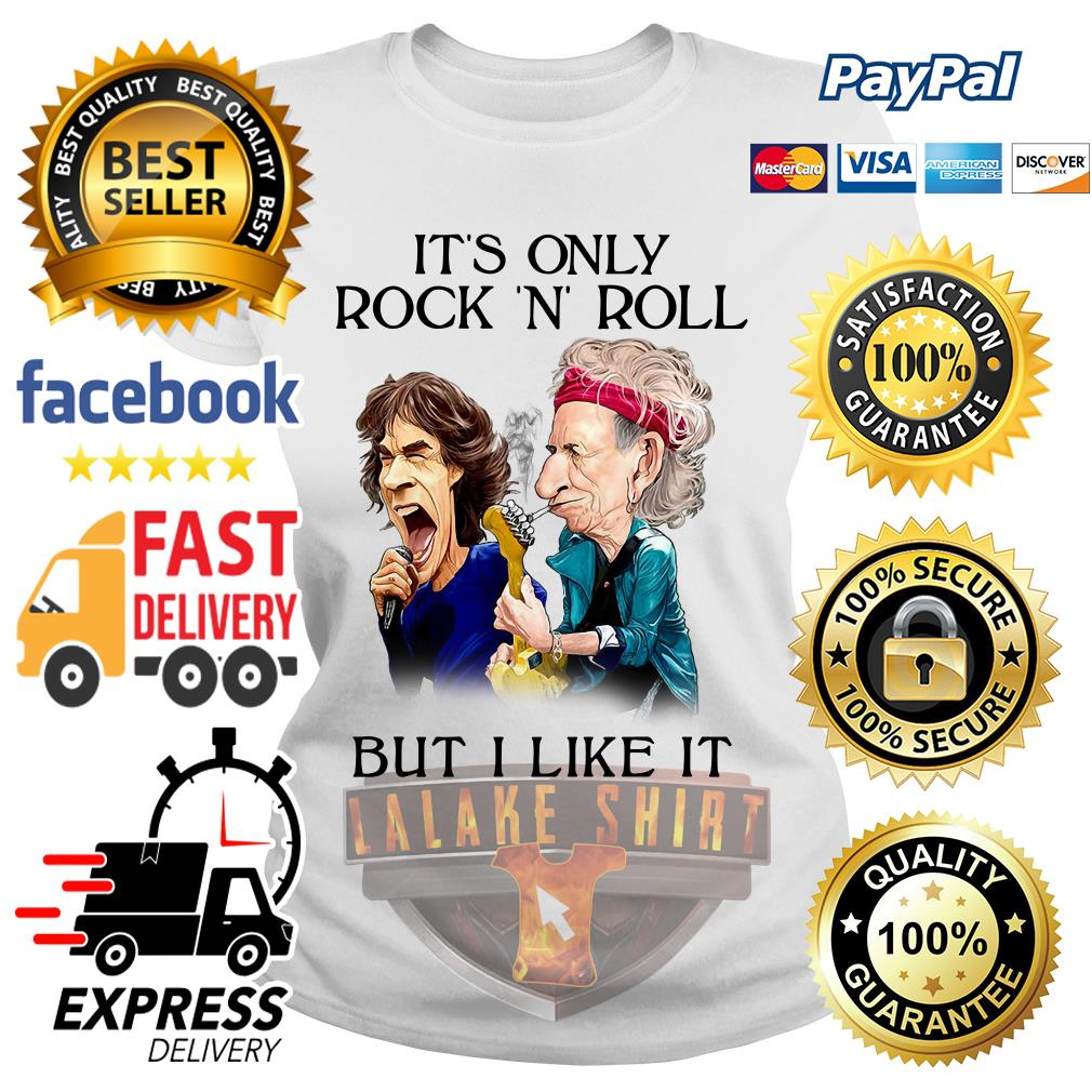 Rolling Stones It's only rock 'n' roll but I like it Ladies Tee