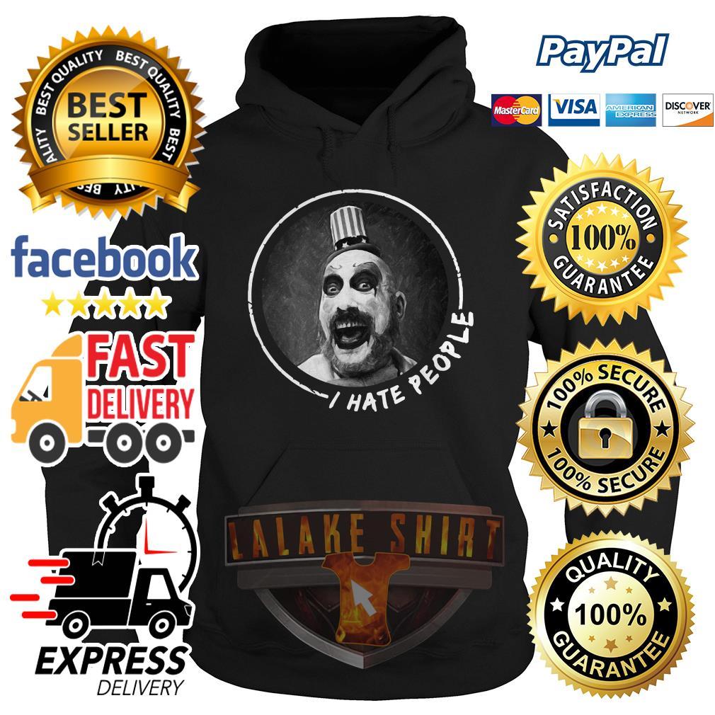 Sid Haig I hate people hoodie