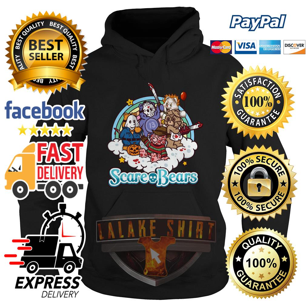 The Care Bears Horror character movie hoodie