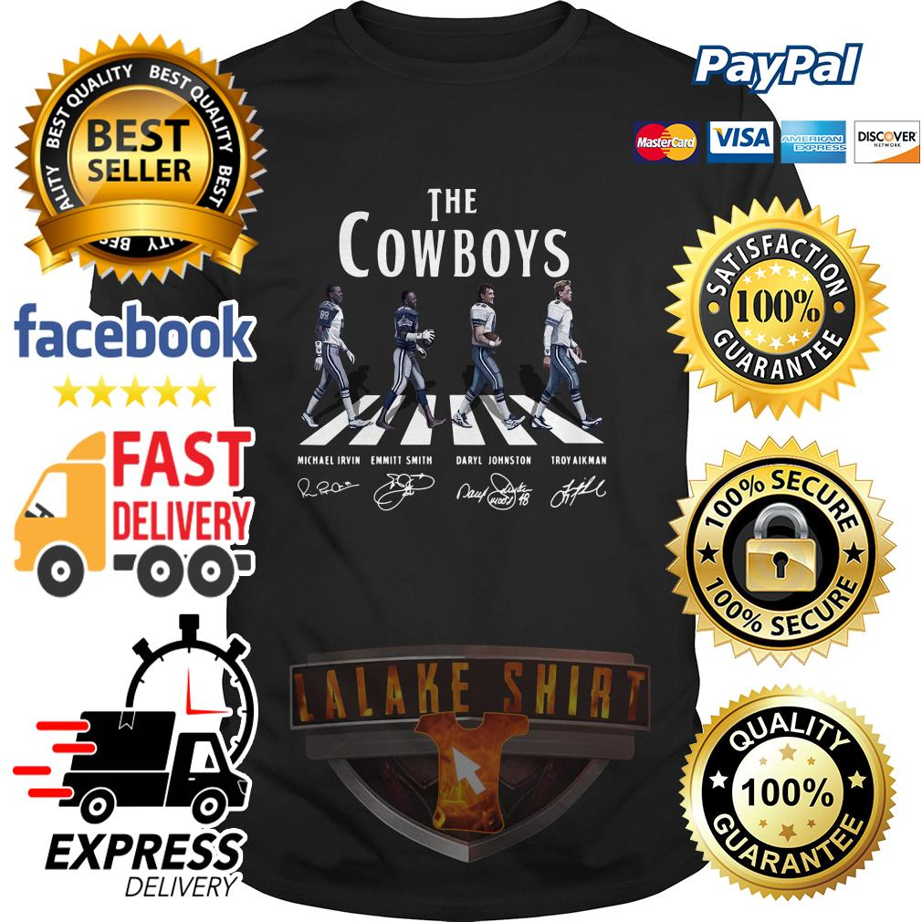 The Dallas Cowboy abbey road signature shirt