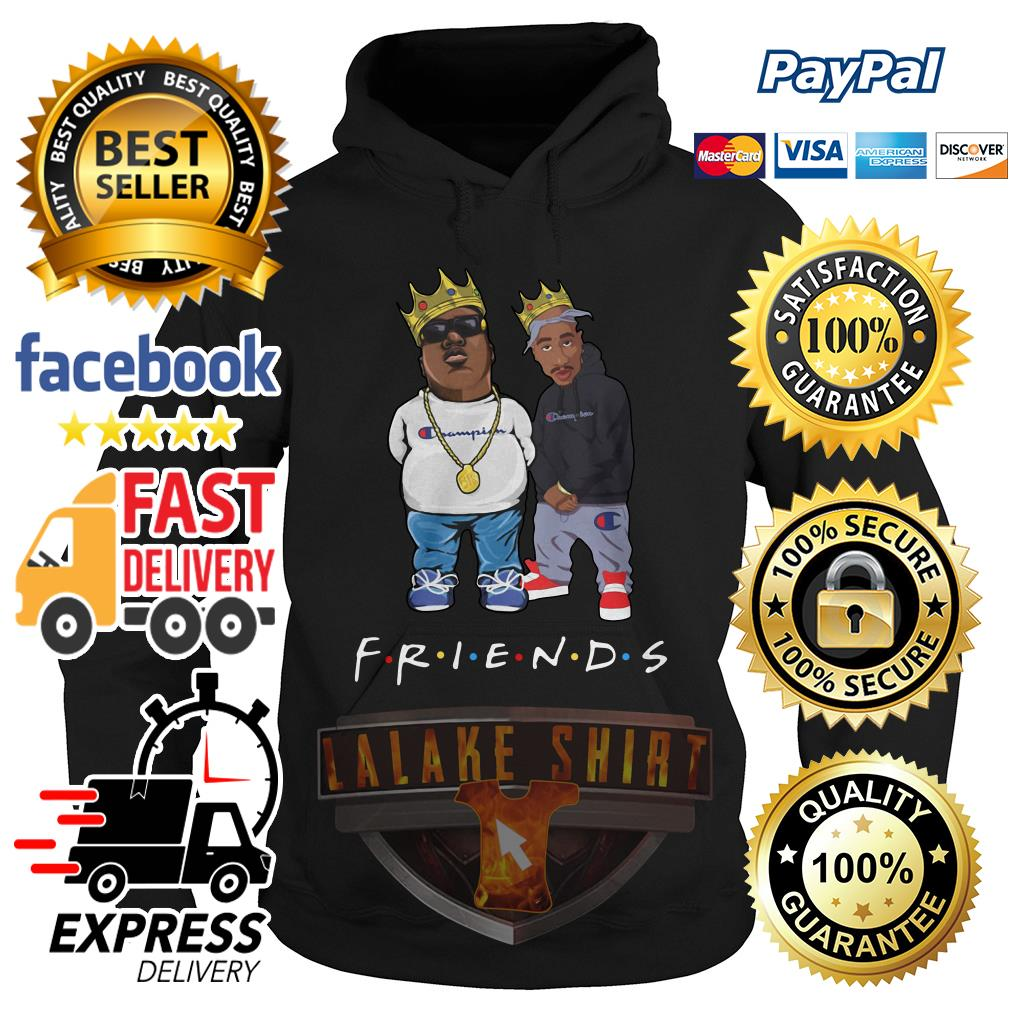 The Notorious B.I.G. and Tupac friends hoodie