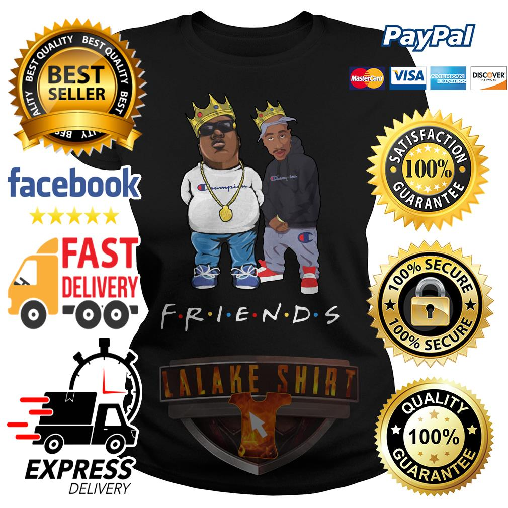 The Notorious B.I.G. and Tupac friends ladies tee