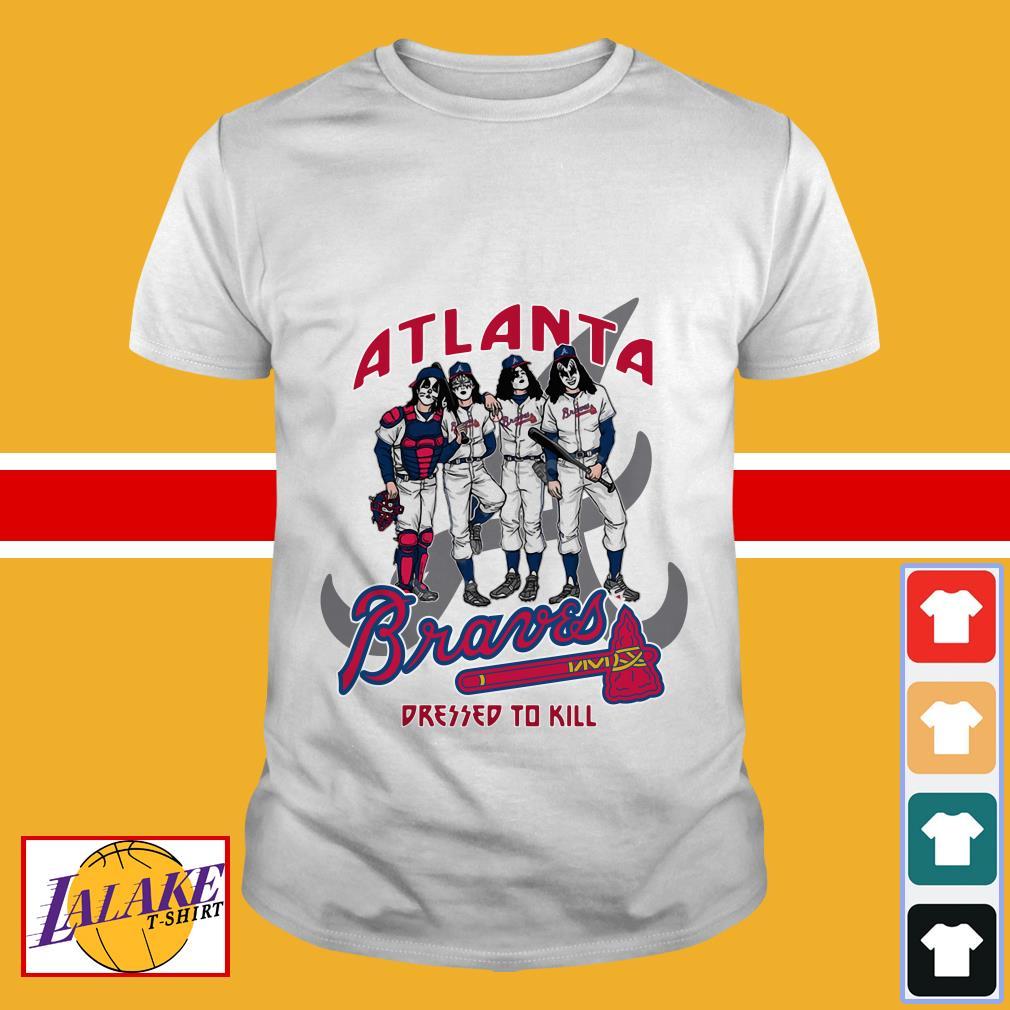 Kiss Atlanta Braves dressed to kill shirt