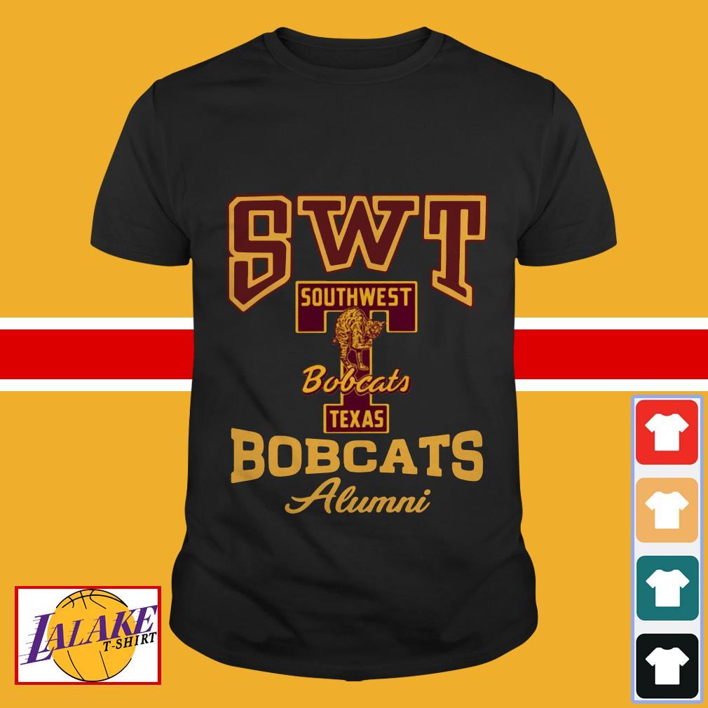 SWT southwest Texas Bobcats alumni shirt