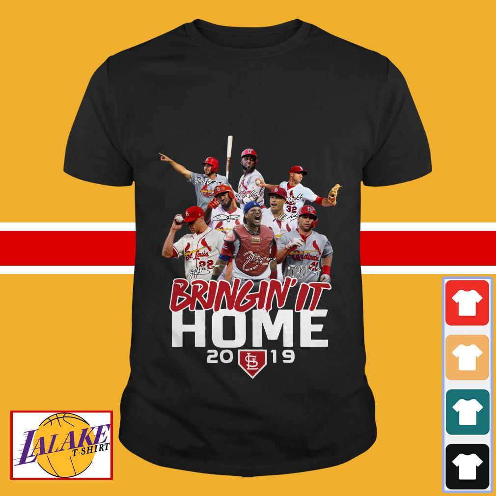 St. Louis Cardinals bringin' it home 2019 shirt