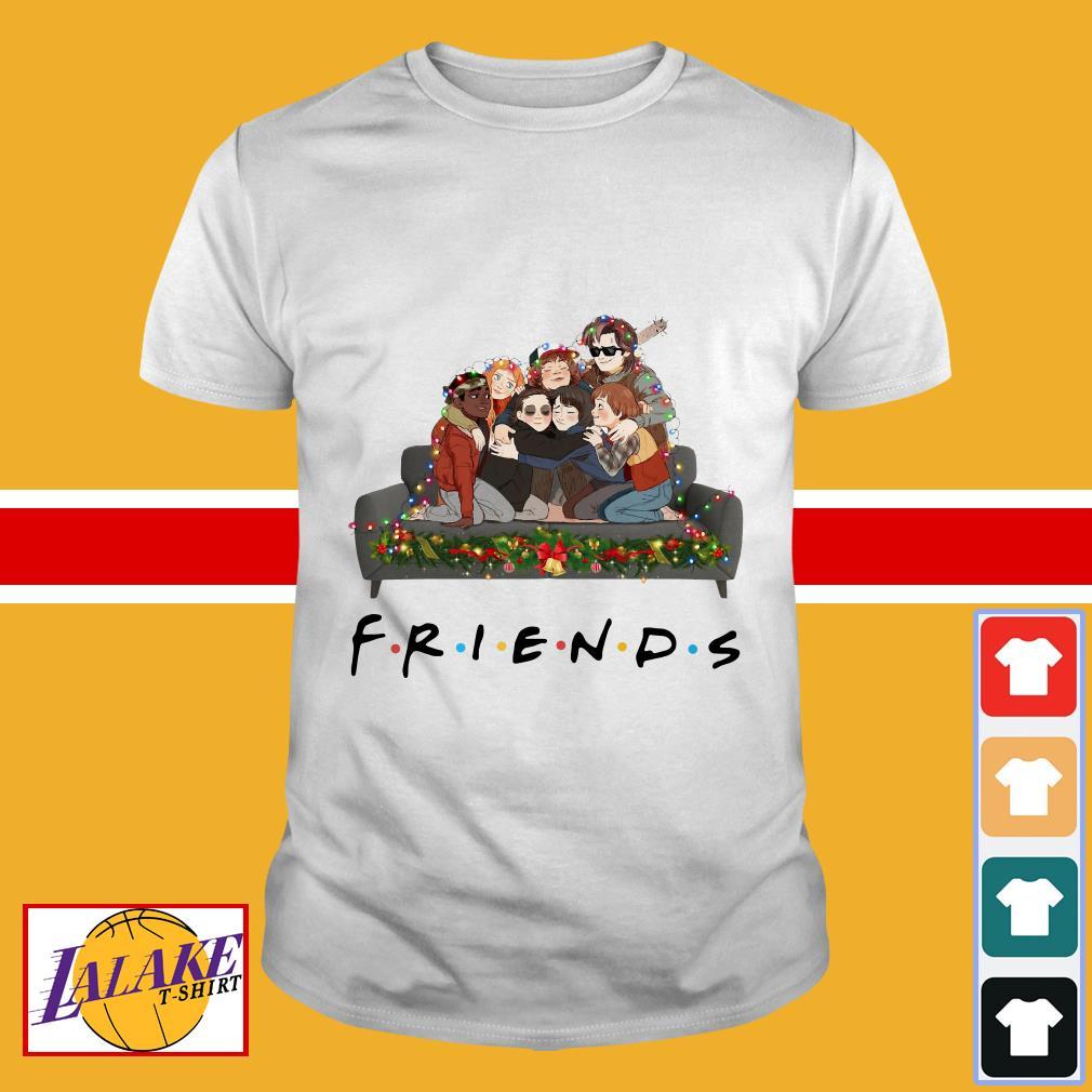 Stranger Things Friends tv show Christmas shirt