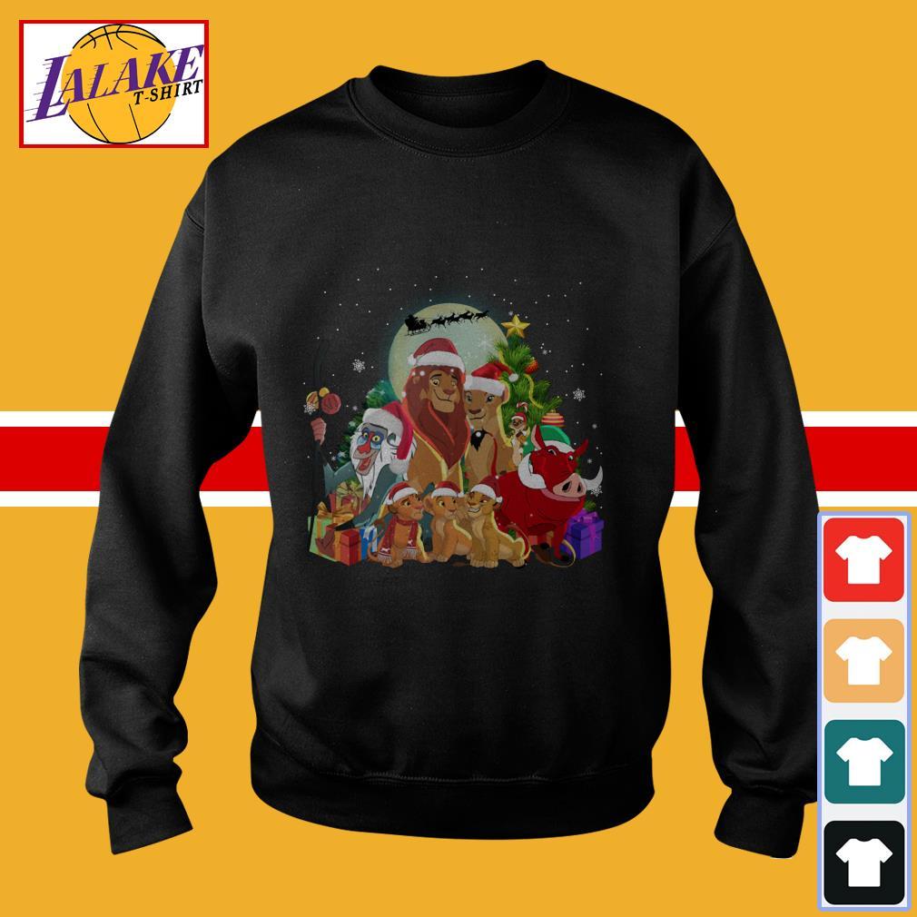 Lion King Character Christmas shirt