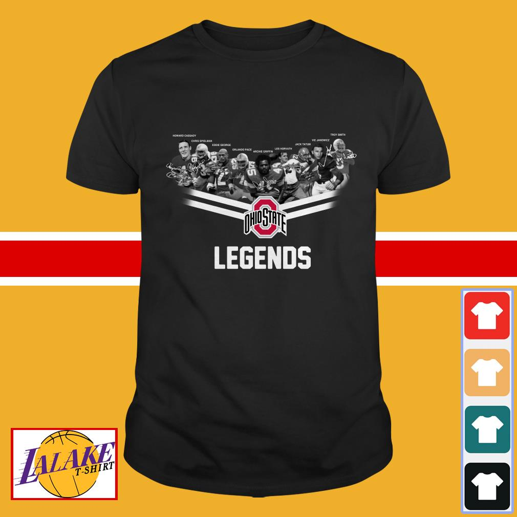 Ohio State Legends team Signature shirt