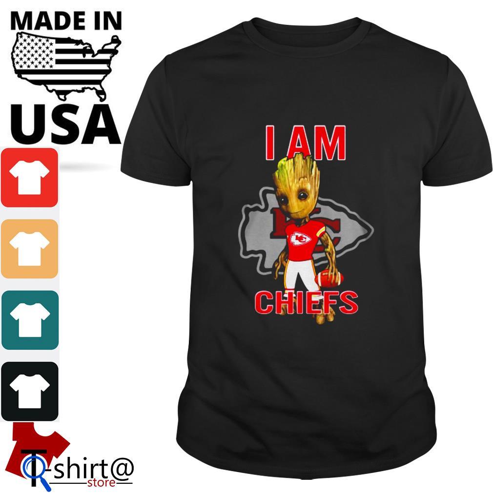 Baby groot I am Kansas City Chiefs shirt