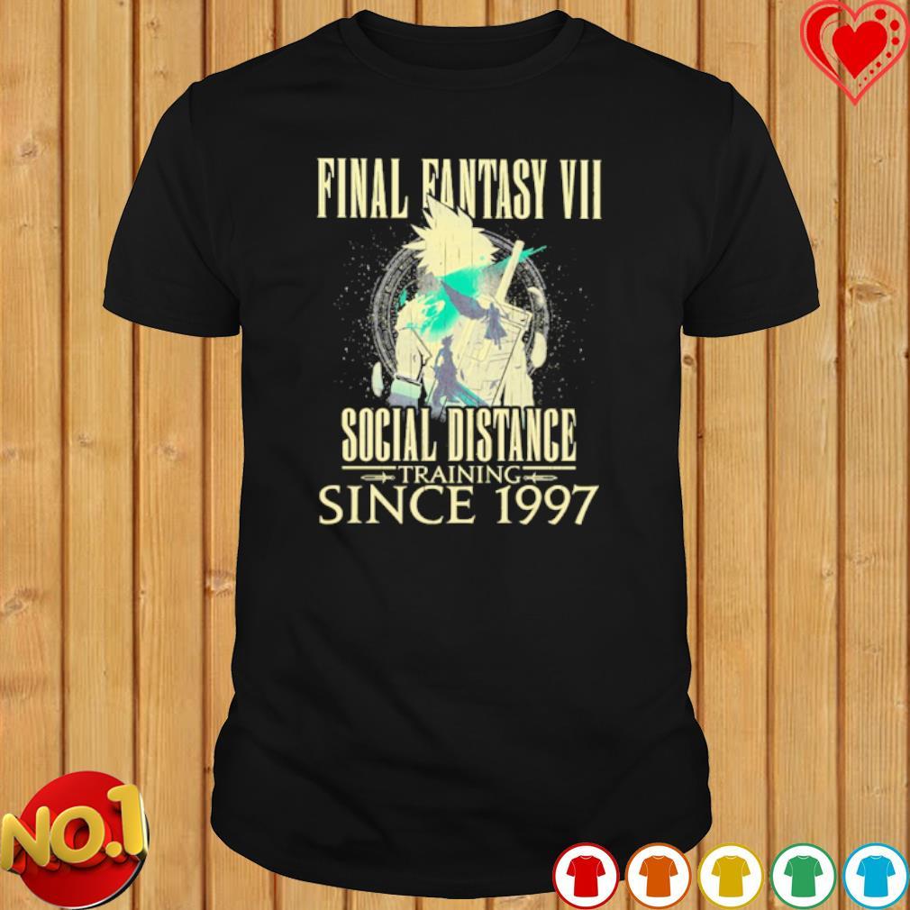 Final Fantasy VII Social Distance Since 1997 shirt