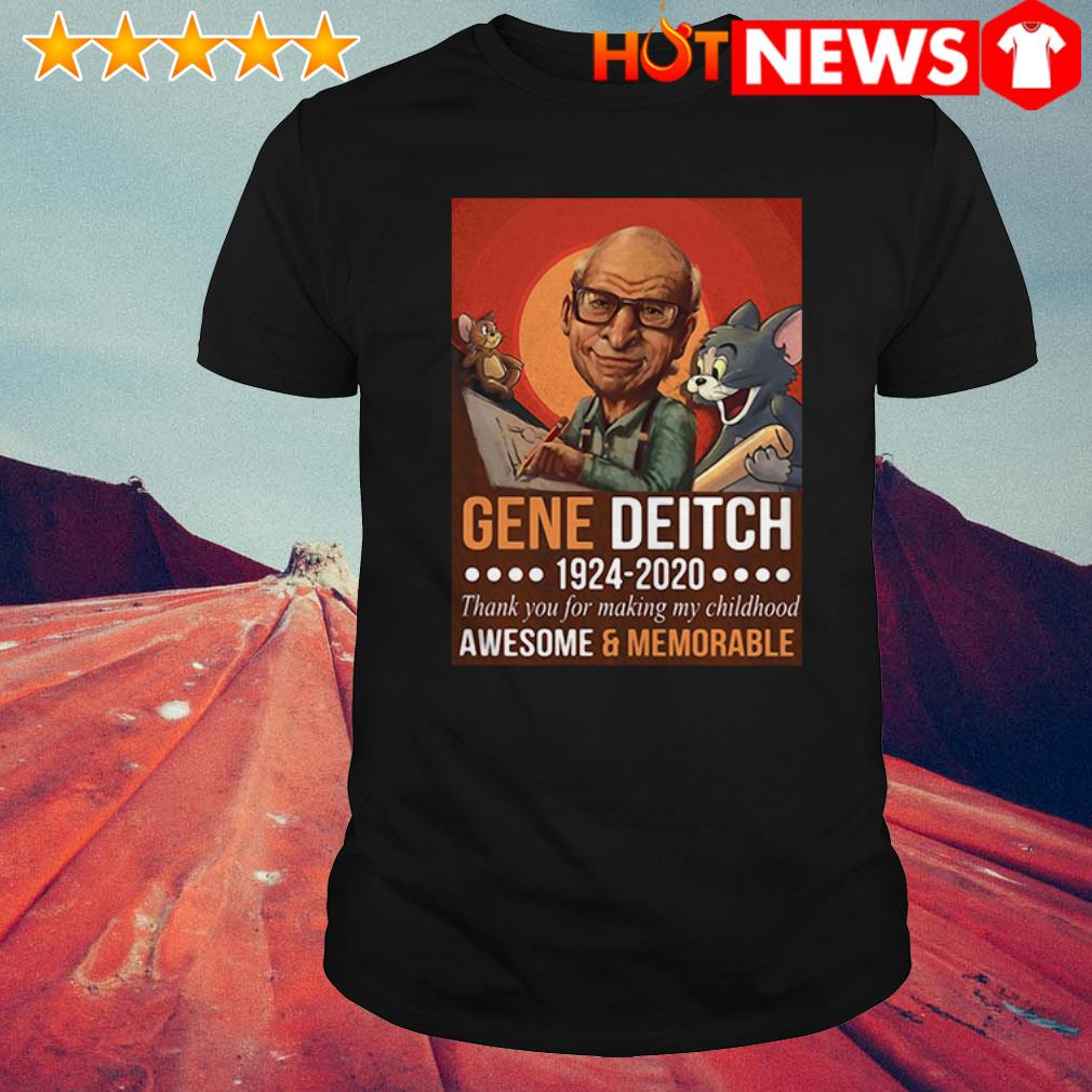 Gene Deitch 1924-2020 thank you for making my childhood Tom and Jerry shirt