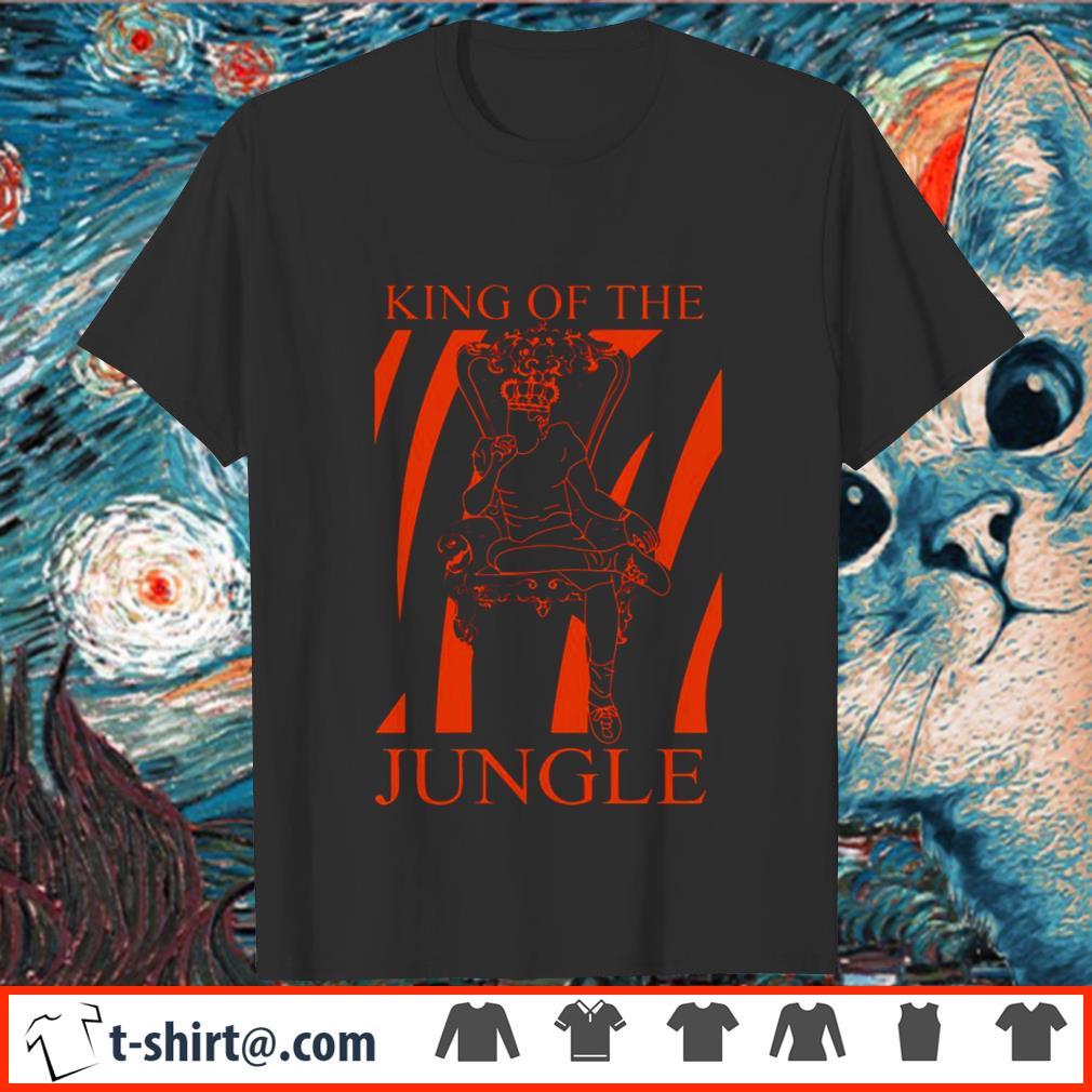 Joe Burrow King of the jungle shirt
