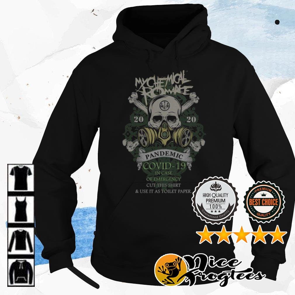 My Chemical Romance 2020 Pandemic Covid-19 in case of emergency shirt