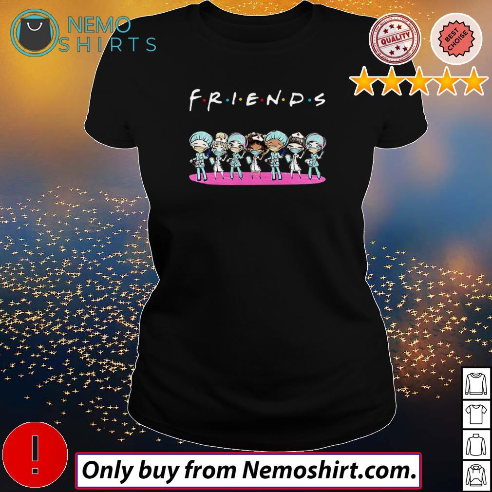 Nurse chibi Friends TV Show Covid 19 shirt