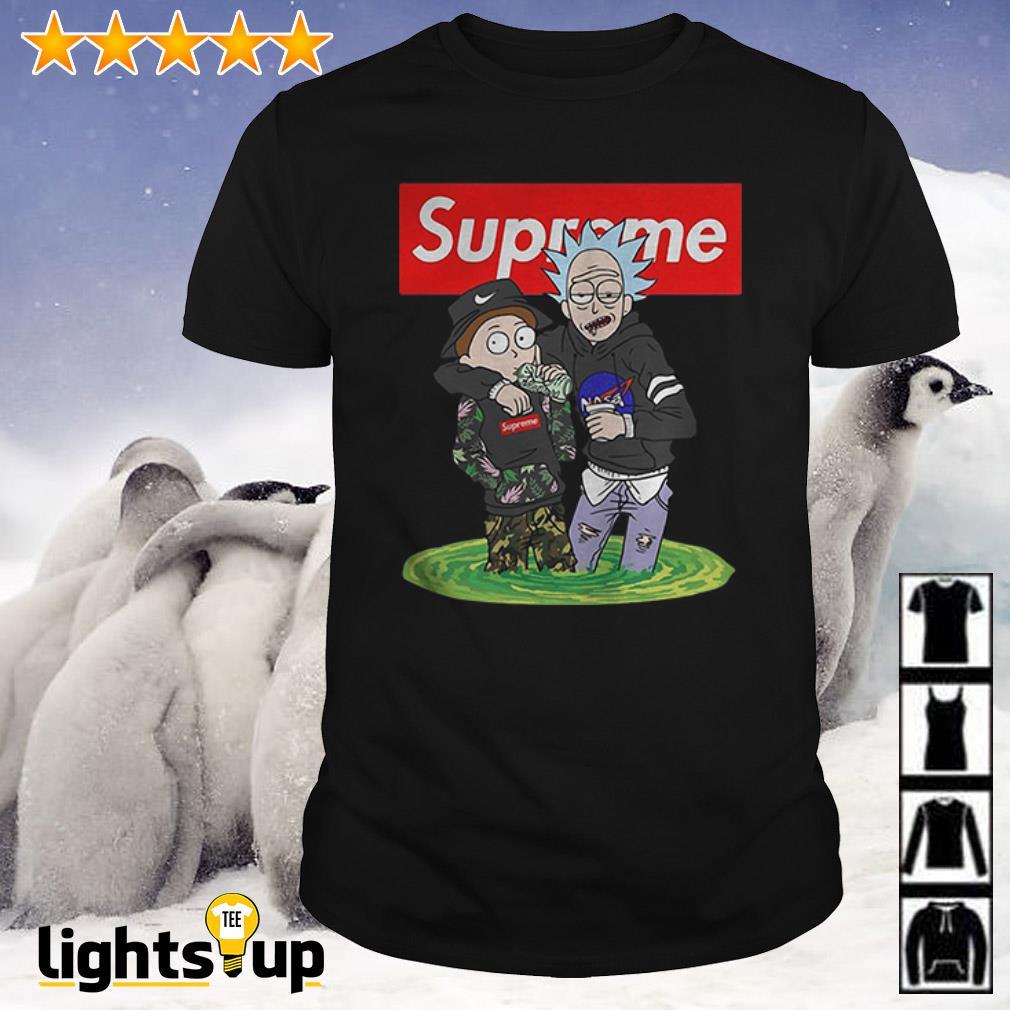 Rick and Morty Supreme shirt
