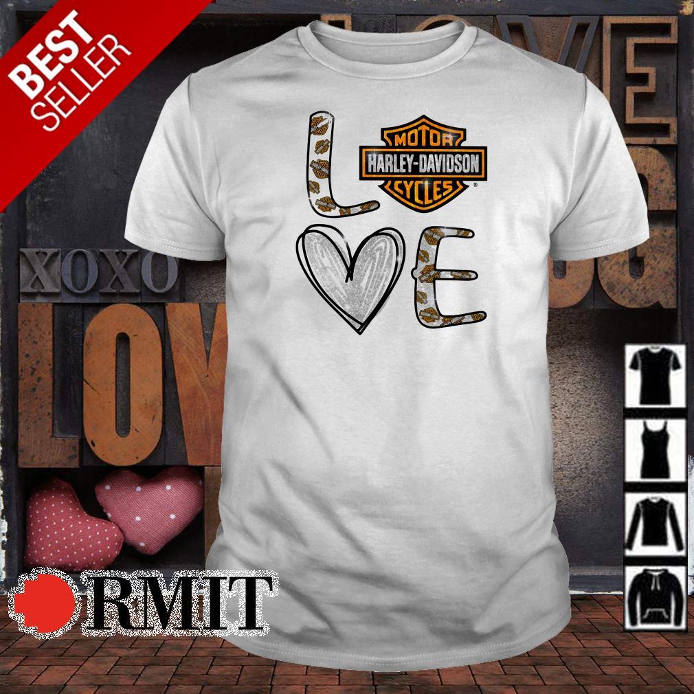 Love Motor Harley Davidson Cycles shirt