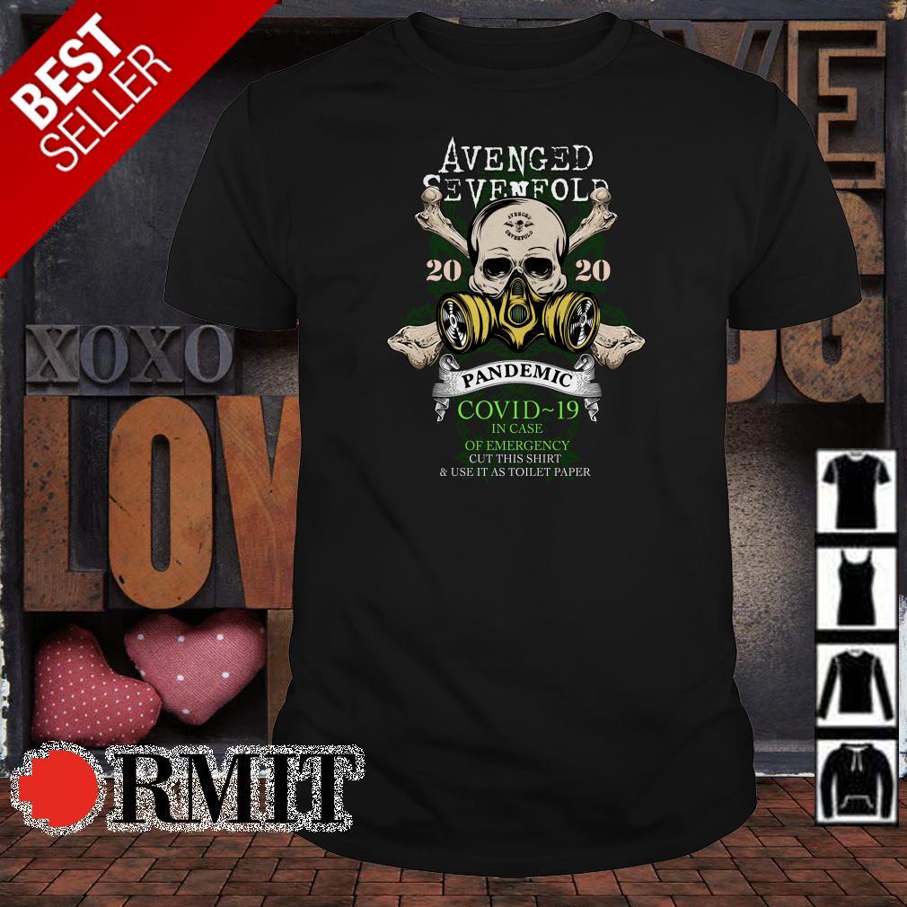 Avenged Sevenfold 2020 pandemic covid-19 shirt