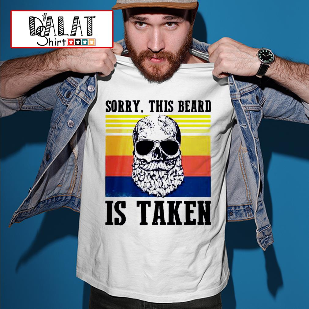 Sorry this beard is taken vintage shirt