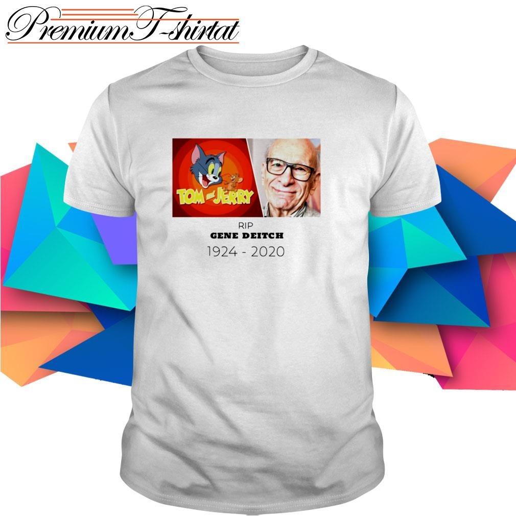Tom and Jerry Rip Gene Deitch 1924-2020 shirt