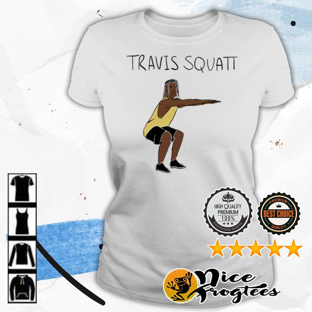 Travis Scott Travis Squatt shirt