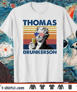 4th of July Thomas drunkerson vintage shirt