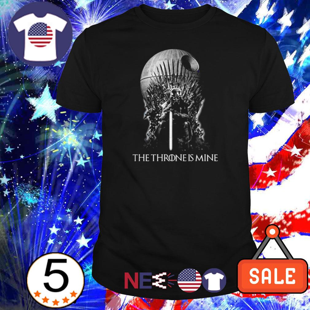 Star Wars Darth Vader The Throne Is Mine shirt