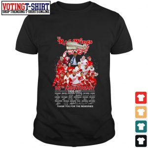 The Red Wings 95th anniversary 1926 2021 signature shirt