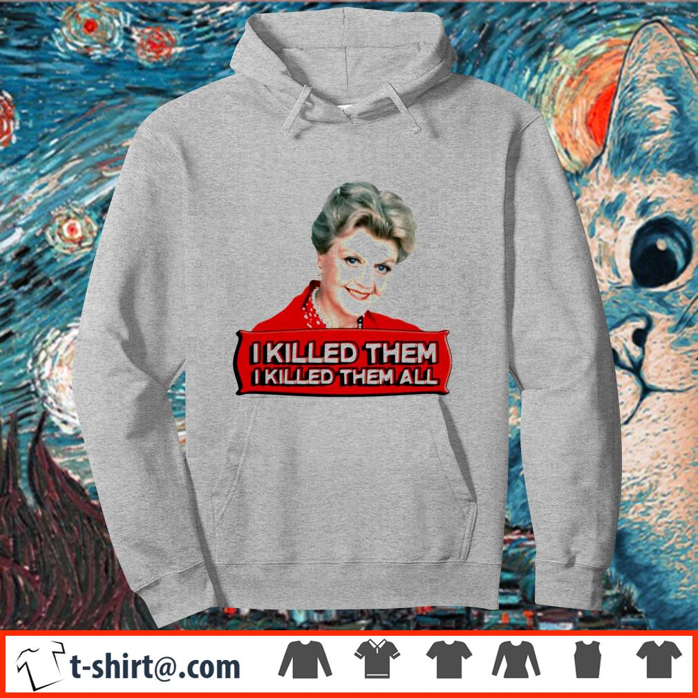 Angela Lansbury I killed them all shirt