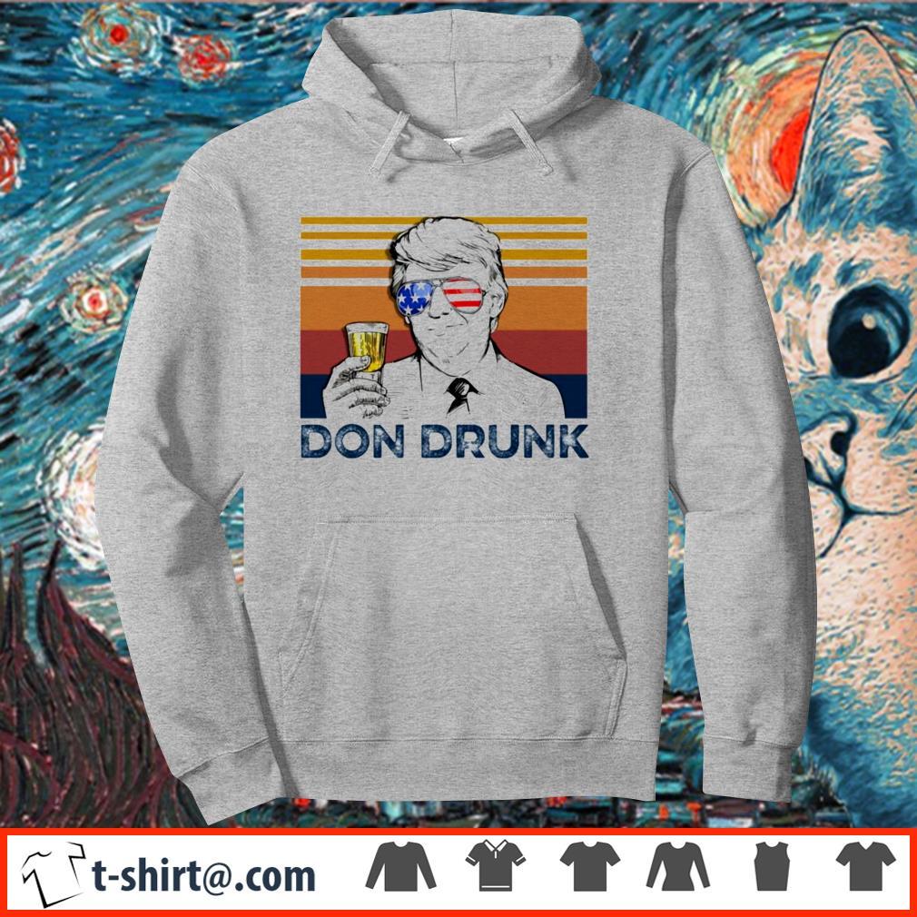 Donald Trump don drunk vintage shirt