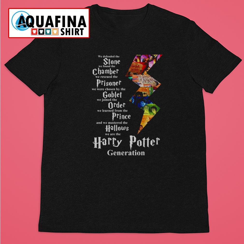 We are the Harry Potter Generation Shirt