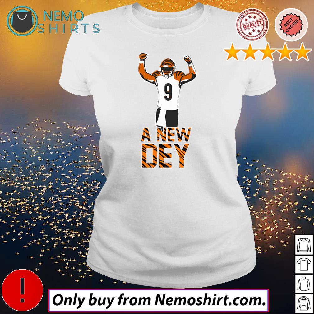 Joe Burrow Cincinnati Bengals a new dey 9 shirt