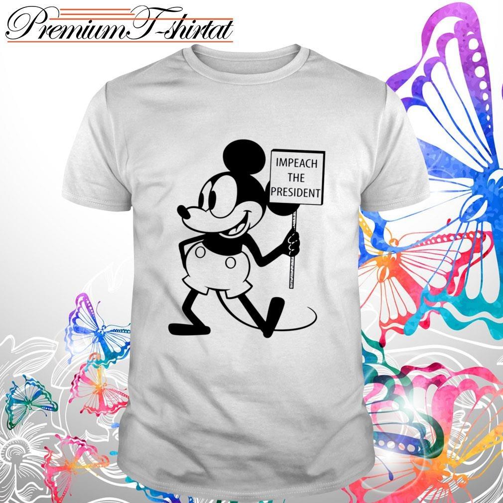 Mickey impeach the president shirt