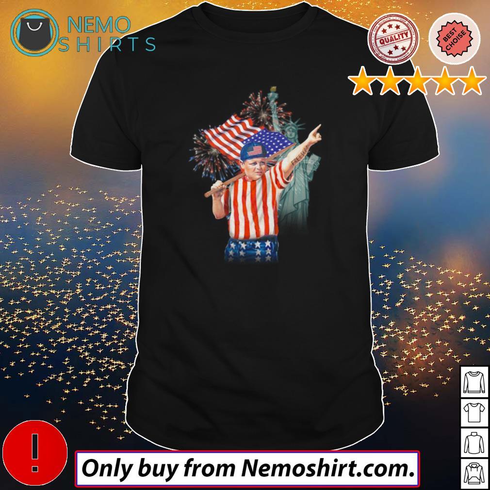 The Sandlot Freedom America Flag shirt