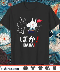 Black rabbit slap baka police racist black live matter shirt