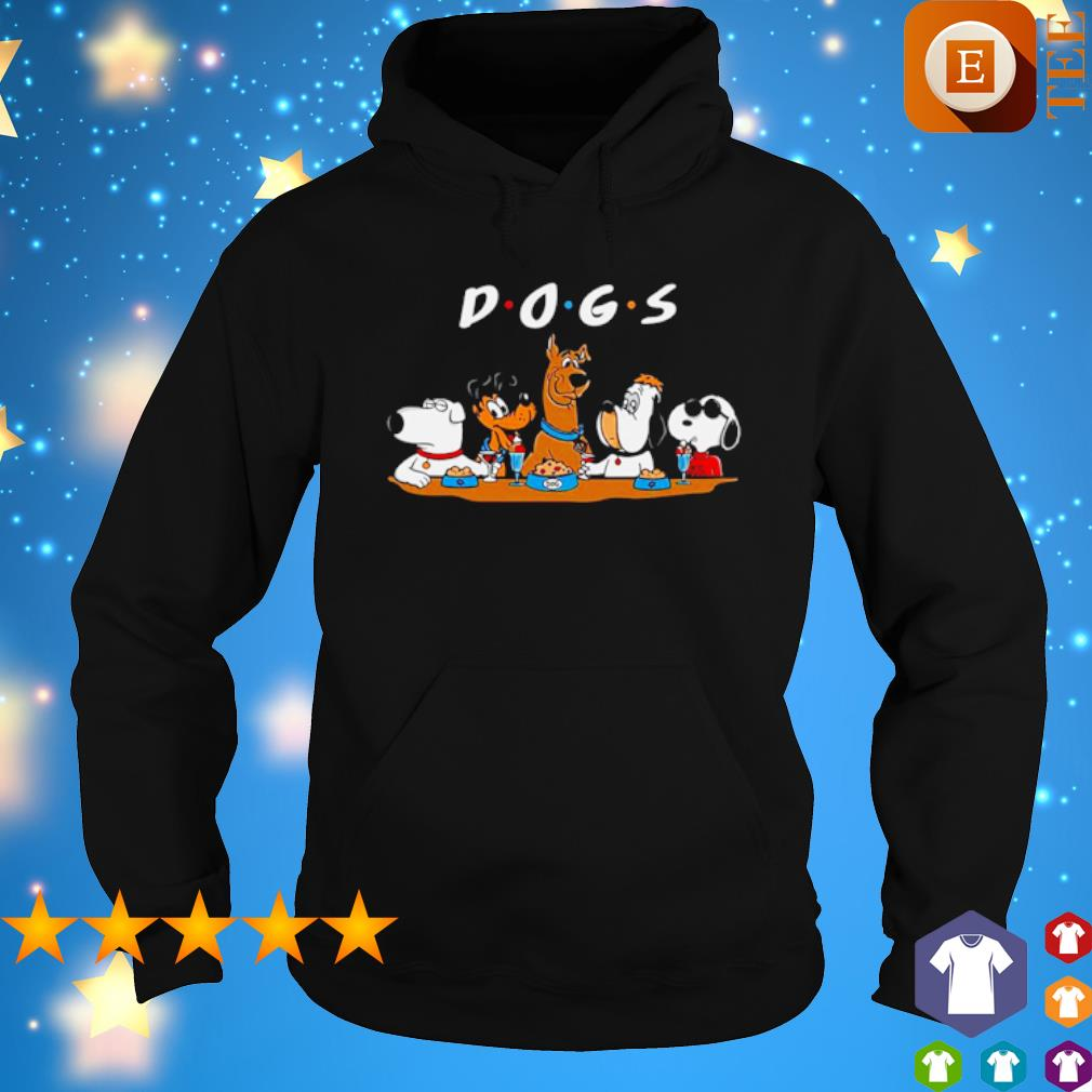 Official Dogs Party Friends Tv Series Shirt