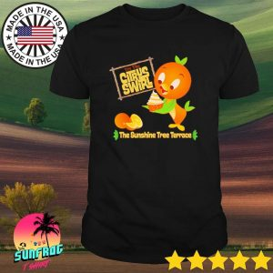 Florida Orange Bird try the citrus swirl the sunshine tree terrace shirt