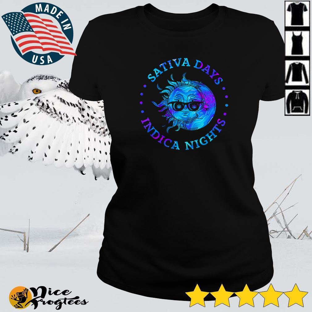 Sativa days indica nights Sun and Moon shirt