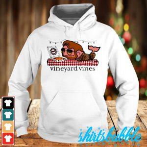 Hot Alright Frankie Vineyard vines pizza shirt