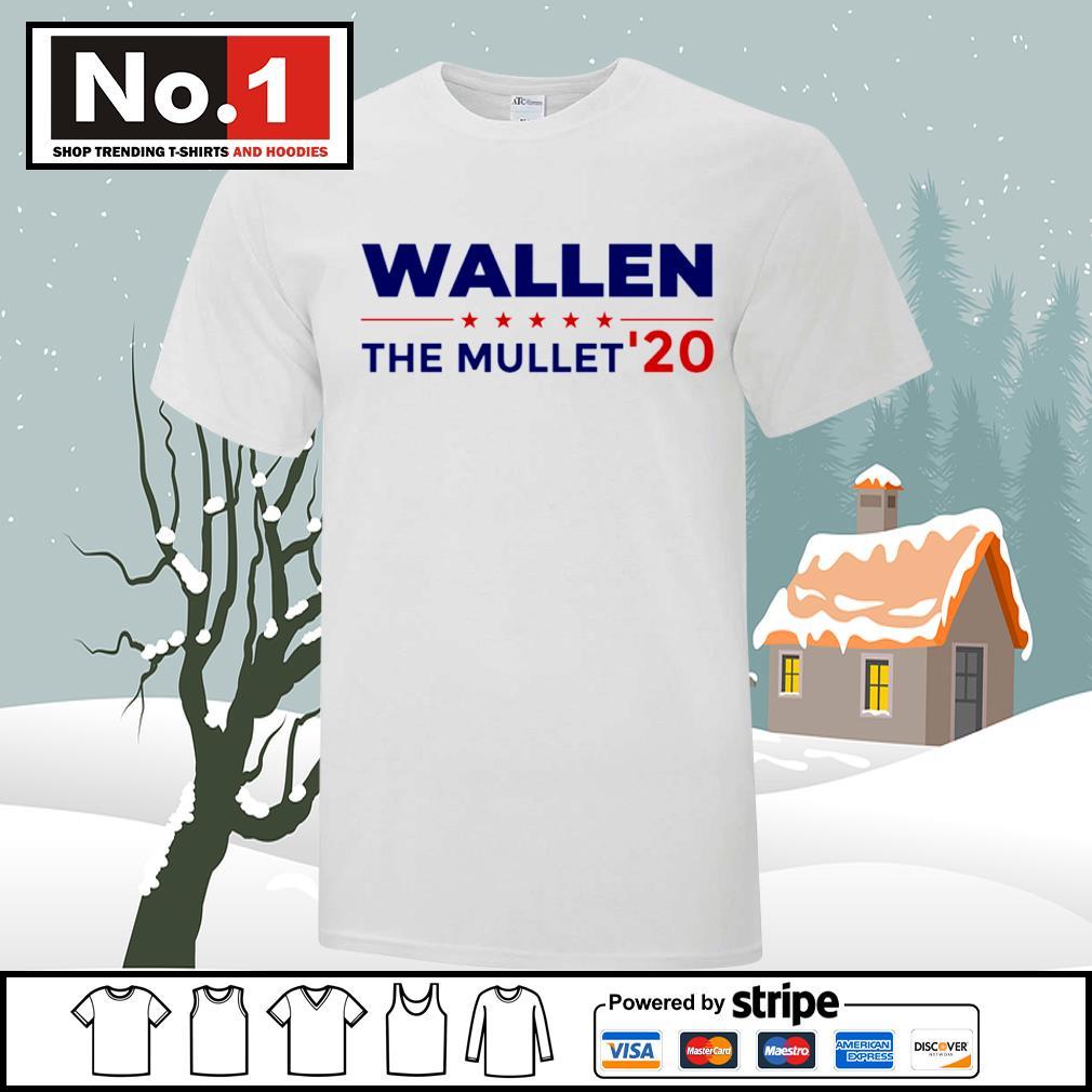 Wallen the Mullet' 2020 shirt