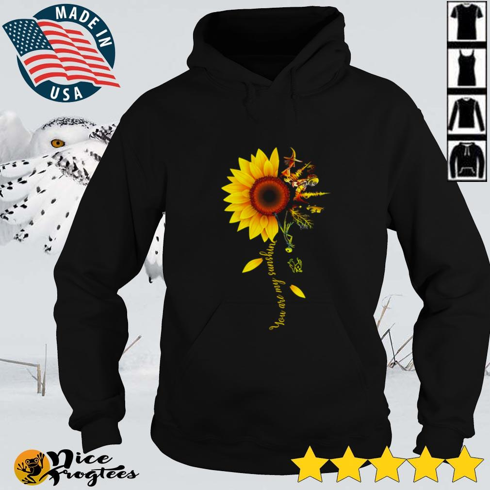 You are my sunshine Flower Sunflower Horror Movies shirt