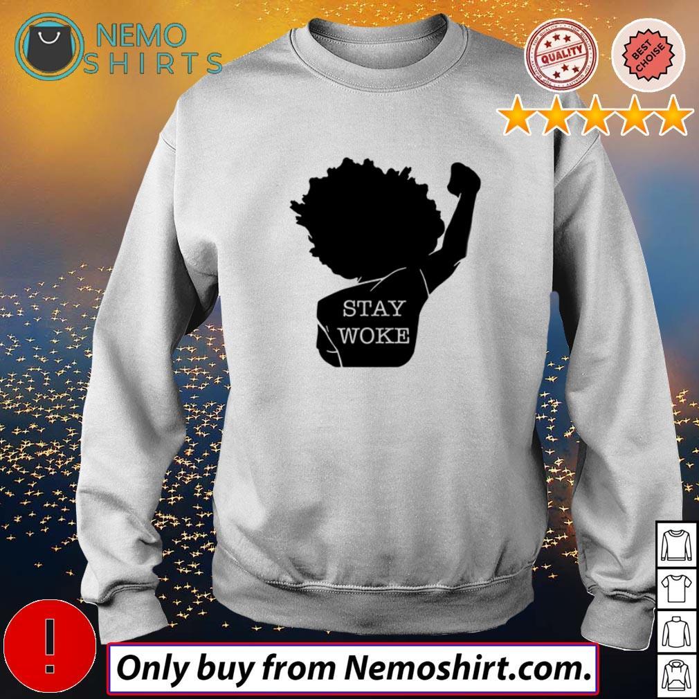 Official Black girl stay woke shirt