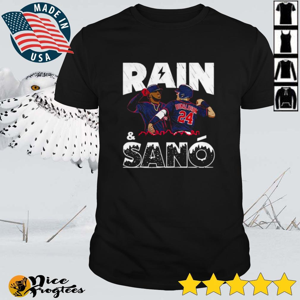 Top Rain and Sano Minnesota Baseball shirt